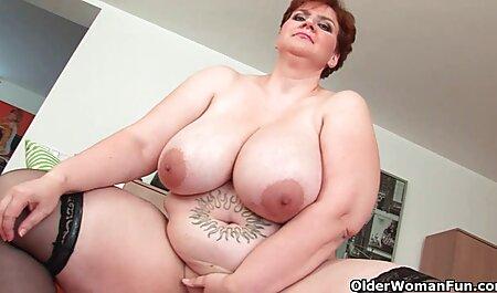 با موهای قرمز همسر طول می کشد یک سکس باحال ازکون لقمه