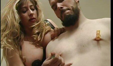 تسلط اولگا ضربدری باحال غالب یک مرد مطیع